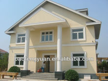 low cost prefab house, china made light steel frame apartment