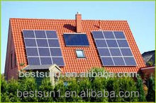 Long warranty BPS10000w 500w solar home lighting system/kit