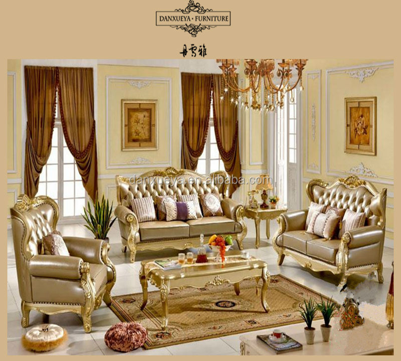 French Antique Gilded Furniture Reproduction Victorian