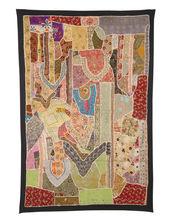 tradicional de la india de la pared tapices hechos a mano patchwork tapiz