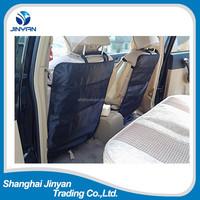 alibaba top Supplier kick mats backseat organizer newest black car back seat protector