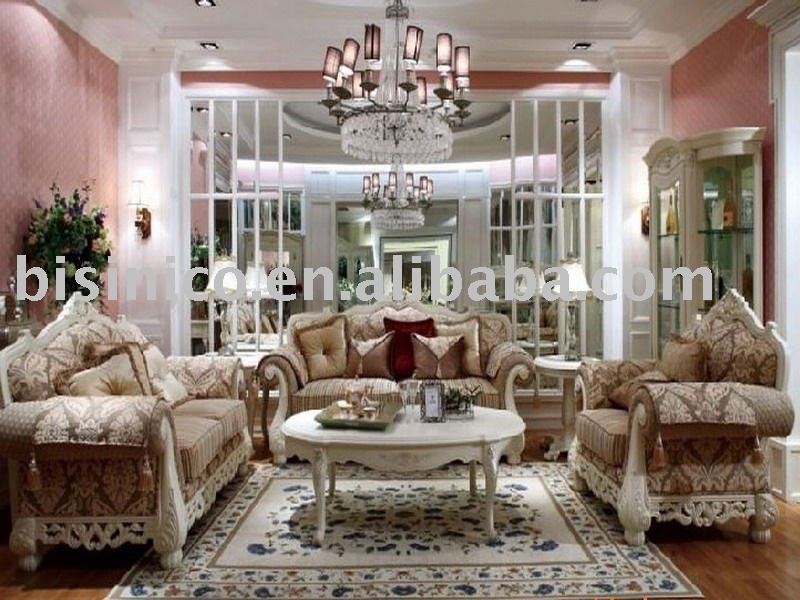 Antique european style living room furniture set bedroom - European style living room furniture ...