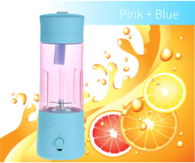 Portable & Rechargeable battery operated mini juice blender cup 380ml