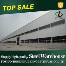 low cost warehouse steel price for prefabricated light steel strutural warehouse