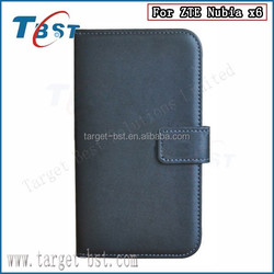 Wallet case for ZTE Nubia X6, mobile case for ZTE Nubia X6, Leather case for ZTE Nubia X6