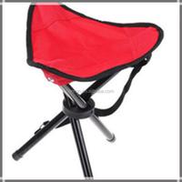 Garden picnic three foot stool chair with three legs