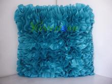 Stock satin cushion covers(new big rose)