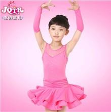 vestido de baile latino rendimiento traje niñas infantil