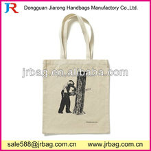 Wholesale Trendy Natural Lady cotton shopping tote Bags