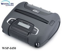 """Woosim rugged 4"""" mobile thermal android receipt printer WSP-I450 for smartphone"""
