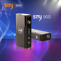 Mechanical mod Variable Wattage Device smy90s vaporizer e cigarette mini box mod 90watt
