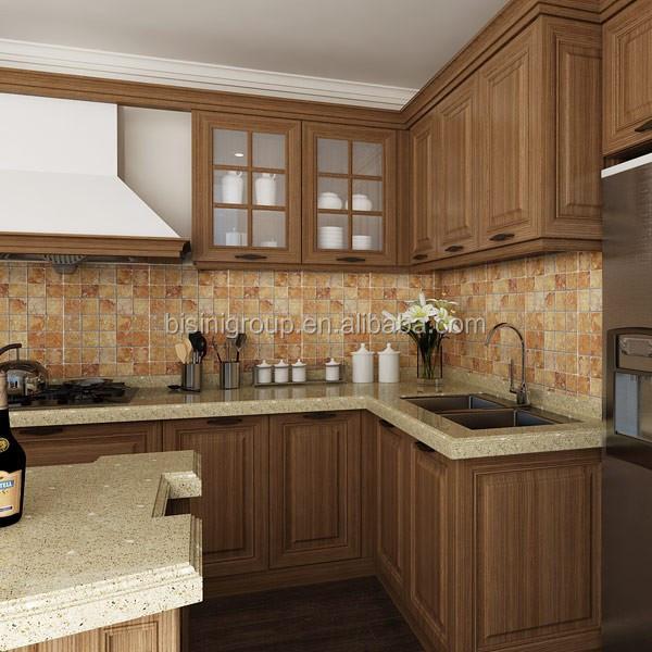 Eiland keuken hout - Traditionele keukens ...