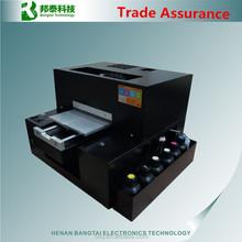 LED UV Flatbed Printer impresso wood printer glass crystal, ABS, acrylic, metal, stone,leather, cotton metal printer