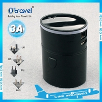 Best quality adapter for mobile phone 5V 3.1A wifi universal USB adapter travel adapter with wholesale price