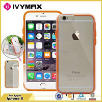 IVYMAX new products 2015 innovative product china mobile phone with price soft case for apple iphone 6 transparent hard case