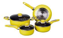 cookware aluminum korean pot modern kitchen designs casserole ceramic set creative kitchen ware