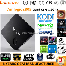 Android TV Box comes with iptv astro malaysia channel Hot selling Quad core 4K support all free live TV 1000+