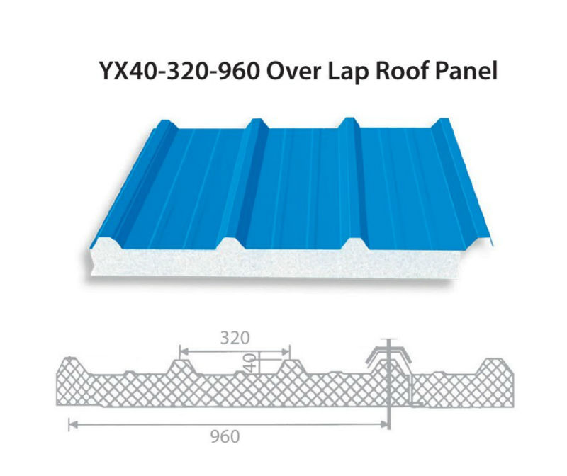 Structural Roof Sandwich Panels : Structural pu insulated sandwich panels for cold rooms
