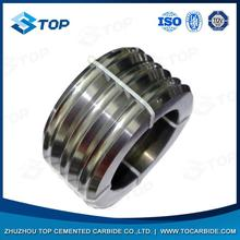 Hot selling pr6.0 125x82x15mm tungsten carbide rolls for forming smooth steel wires for steel works