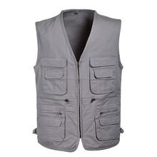 2015 fashion design functional waistcoat vest for men