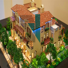 ABS And Acrylic Architectural Materials ,3D CAD Drawings and PDF architecture Design For house Model