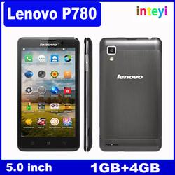 New arrival 5.0'' Original Lenovo P780 Android phone 4.2 Smartphone MTK6589 Quad Core 1.2GHz RAM 1GB+ROM 4GB Dual SIM WCDMA&GSM