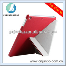2015 Fashionable Folding Leather Case for iPad air 2