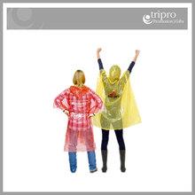 Custom printed cheap raincoat, promotional rain ponchos, Adult rain ponchos