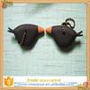 Custom personalized crow shaped soft pvc key cover,key cap