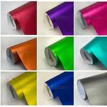 TeckWrap Car Body Film High Stretch stable pigment Chrome Matte Wrap Vinyl Film
