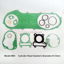 mio motorcycle parts overhauling gasket set