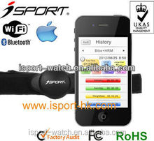 Android 4.3 IOS 7 app Bluetooth 4.0 wireless transmission heart rate belt W183