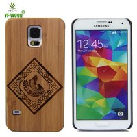 Eco-friendly Mobile Phone Wood Cases For Samsung galaxy S5 Hard Case