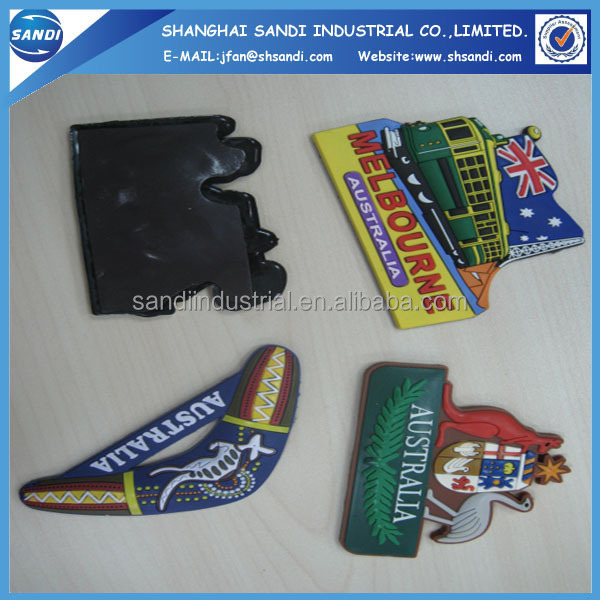 Soft PVC rubber Fridge magnet