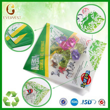 plastic rock sugar bag, ice candy plastic bags, three side seal plastic packaging bags