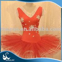 Stage wear supplier Hot sale Fitting Girls dance leotards adult costume