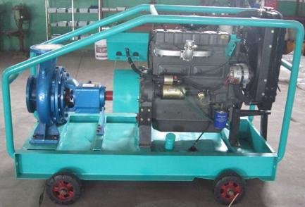 6 pulgadas de la bomba de agua del motor diesel para el for Motor de presion de agua