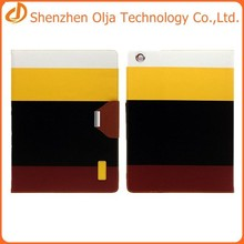 Olja pu leather tablet case for ipad mini 2,for pu leather ipad case
