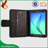 wholesale PU leather tablet case flip cover with wireless bluetooth keyboard for samsung T350 T351