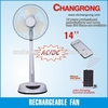 CR-8803A Big manufactory for solar rechargeable fan for wholesales