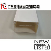 PVC Flame-Resisting wire duct trunking square trunking Arc Floor Trunking