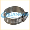 Wholesale all types of clamps double bolt hose clamp