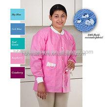 Medical doctor uniform Lady lab coat