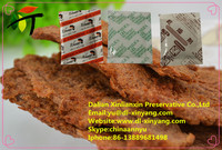 beef and pork jerky used oxygen absorber/oxygen absorbent/deoxidizer