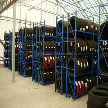 Shell and Tube Type and Esd Protection Feature tire rack,tyre display rack,warehouse storage racks