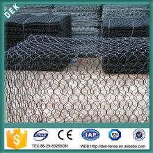 Square artificial stone mesh fence