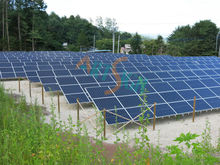 hot dip galvanized bracket, aluminium anodizing plant,10mw solar power plant