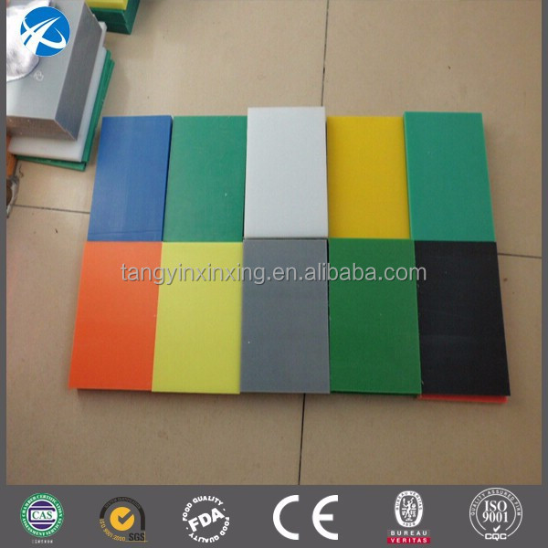 Virgin hdpe thick plastic sheet customized flexible