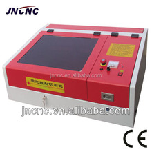 customized 40w mini paintball laser engraving machine