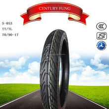 best chinese brand century fung motorcycle tyre70/90- 17motorcycle tyre tubless tyre